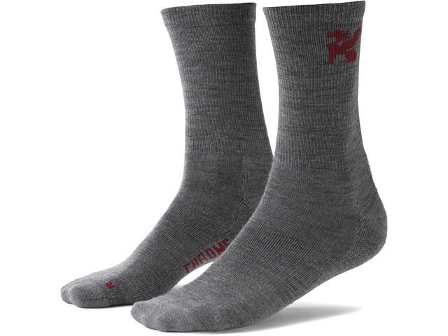 Chrome Merino Crew-Cut Socken Herren grey
